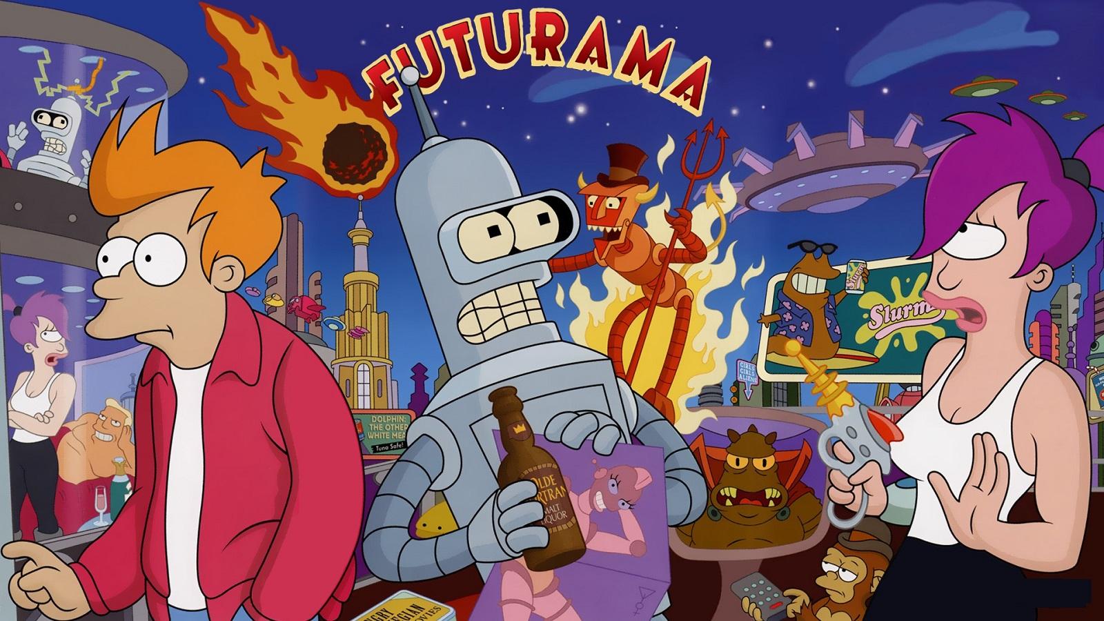 Futurama 5. séria online seriál